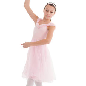 Serenade Skirted Pink Leotard