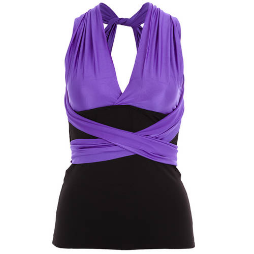 Transitions Tank Purple : 1136