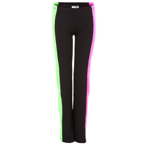 Youth Hot Pink and Lime Striped Superstar Pants : 1276C