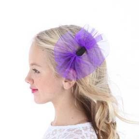 Lollipop Purple Hairbinder