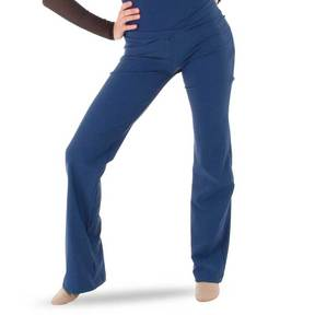 Navy V-Waist Jazz Pants