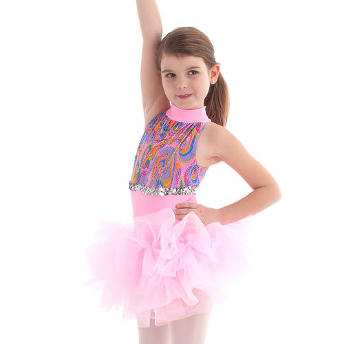 Youth Kaleidoscope Leotard: 1560C