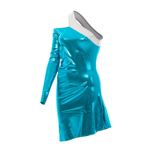 Teal Pocketbook Dress : 1579