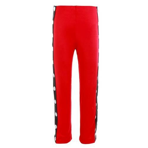 Youth Red Lycra Polka Dot Jazz Pant : 701UC