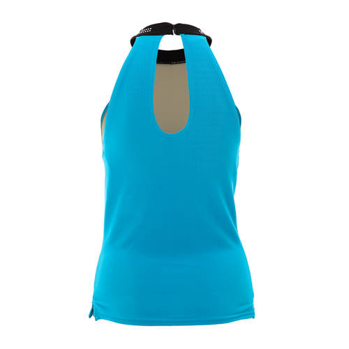 Turquoise and Black Tank Top : 8322