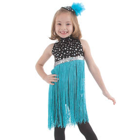 Youth Fringetastic Leotard With Skirt