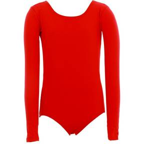 Youth Red Nylon Leotard