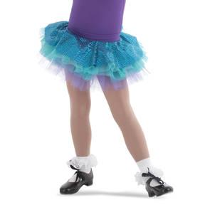 Sweet Mint Sequin Skirt