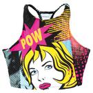 Girls Pow Crop Top : AC1065C
