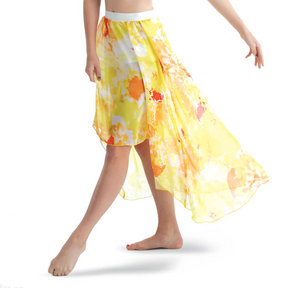 Girls High Low Maxi Skirt