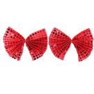 Red Shoe Bows : A015