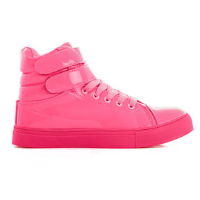 Pink Glossy Sneaker