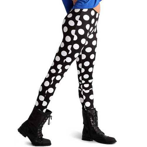 Alexandra Polka Dot Leggings : AC1001