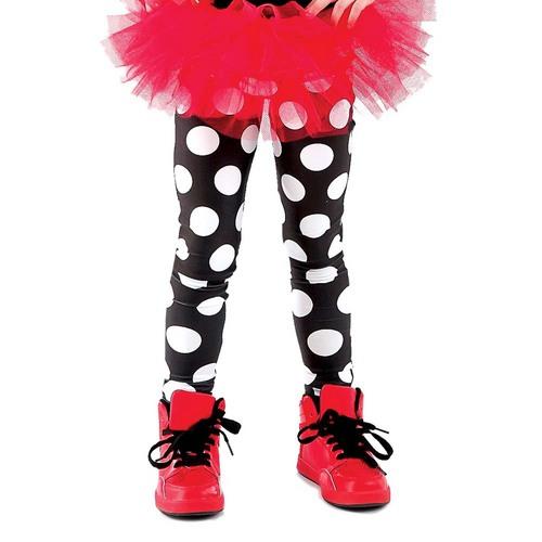 Alexandra Youth Polka Dot Leggings : AC1001C
