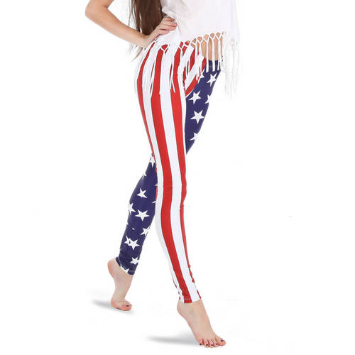 American Flag Leggings : AC1005
