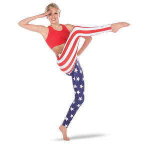 Alexandra American Flag Leggings