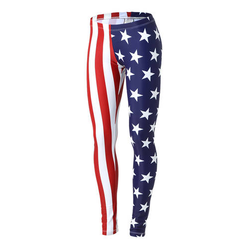 Alexandra Youth American Flag Leggings : AC1005C