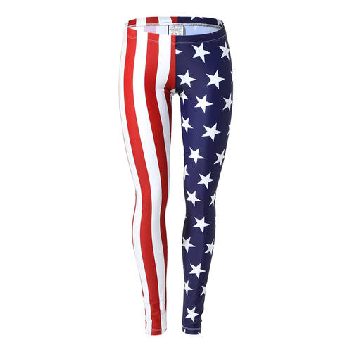Alexandra Youth American Flag Leggings : AC1005C