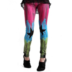 Girls Tie Dye Leggings