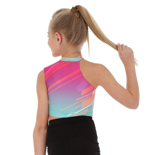One Shoulder Crop Top : AC1042