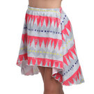 Aztec High Low Skirt : AC1049