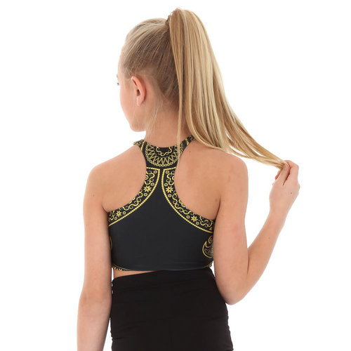 Girls Bandana Crop Top : AC1064C