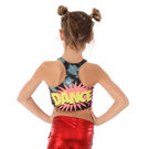 Girls Pow Crop Top : AC1065C