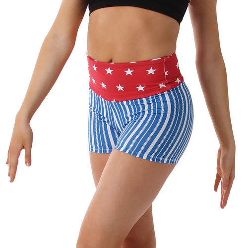 Stars and Stripes Shorts : AC1074
