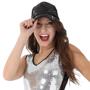 Sequin Trucker Hat