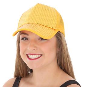 Sequin Trucker Hat