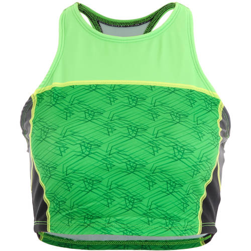 Green Crop Top : AC1081
