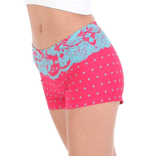 Polka Dot Lace Short : AC1094