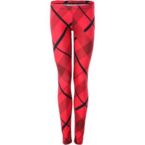 Girls Red Plaid Legging : AC1104C