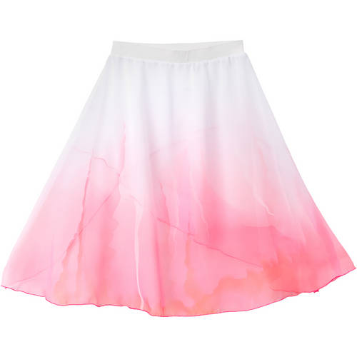 Girls Layered Watercolor Skirt : AC1146C