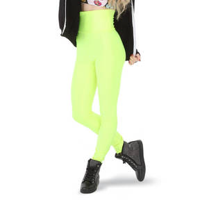 Neon Faux Leather Leggings