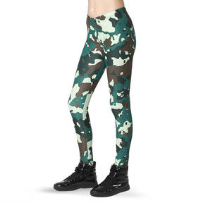 Girls Camo Leggings