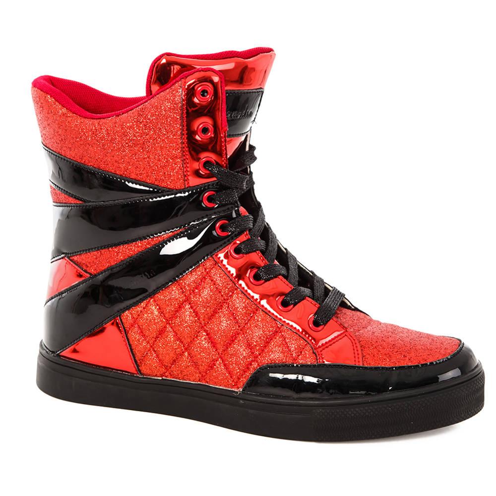 Alexandra Glitter High Top Sneaker : AC12