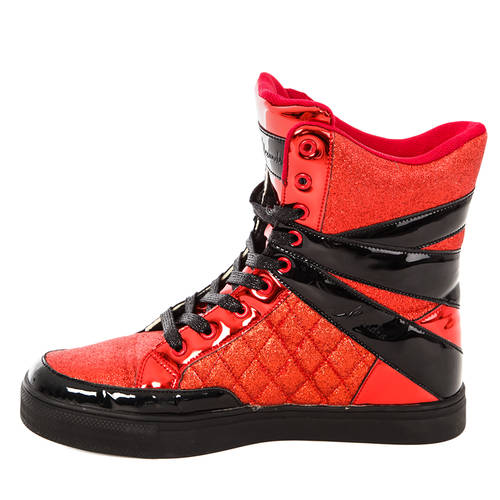 Alexandra Glitter High Top Sneaker : AC12