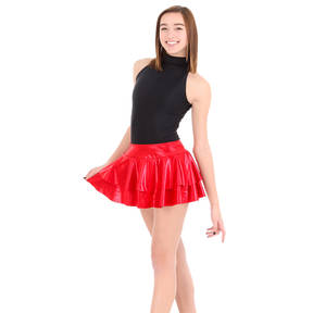 Youth Matrix Shimmer Skirt