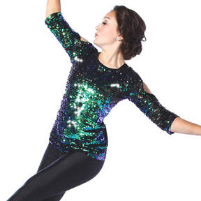 Youth Under The Lights Sequin Top