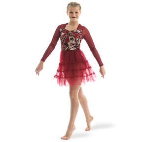 Sweetheart Leotard with Pettiskirt