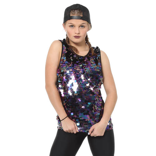 Big Sequin Tank : AC2132