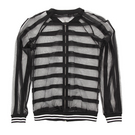 Alexandra Mesh Stripe Jacket : AC4014