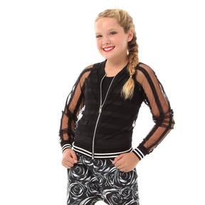 Alexandra Girls Mesh Stripe Jacket