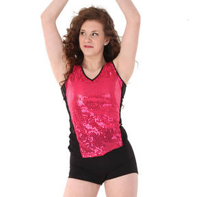 Alexandra Girls Sequin Tank Top