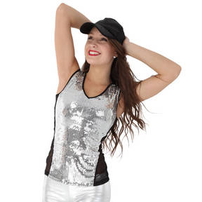 Alexandra Sequin Tank Top