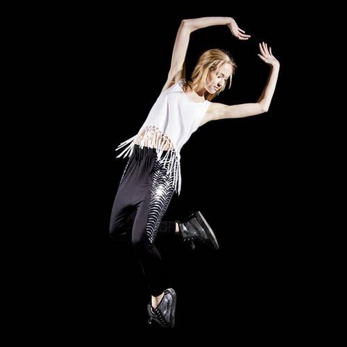 Alexandra Sequin Jogger Pants : AC4017