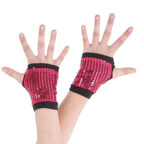 Alexandra Sequin Hand Gauntlets