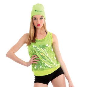 Alexandra Sequin Tunic Top