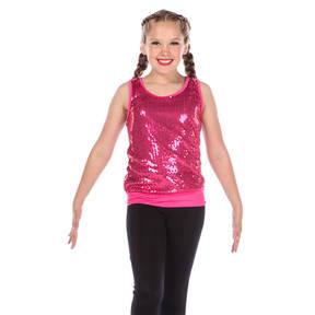 Alexandra Girls Sequin Tunic Top